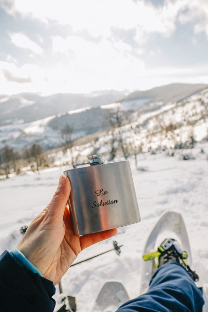 Aventure dans le massif des Vosges en hiver. crédit photo : Clara Ferrand - blog Wildroad