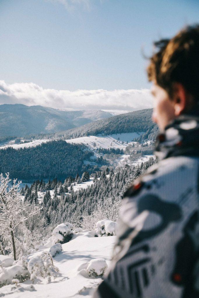 Découvrir les randonnées à faire dans le massif des Vosges en hiver. crédit photo : Clara Ferrand - blog WIldroad