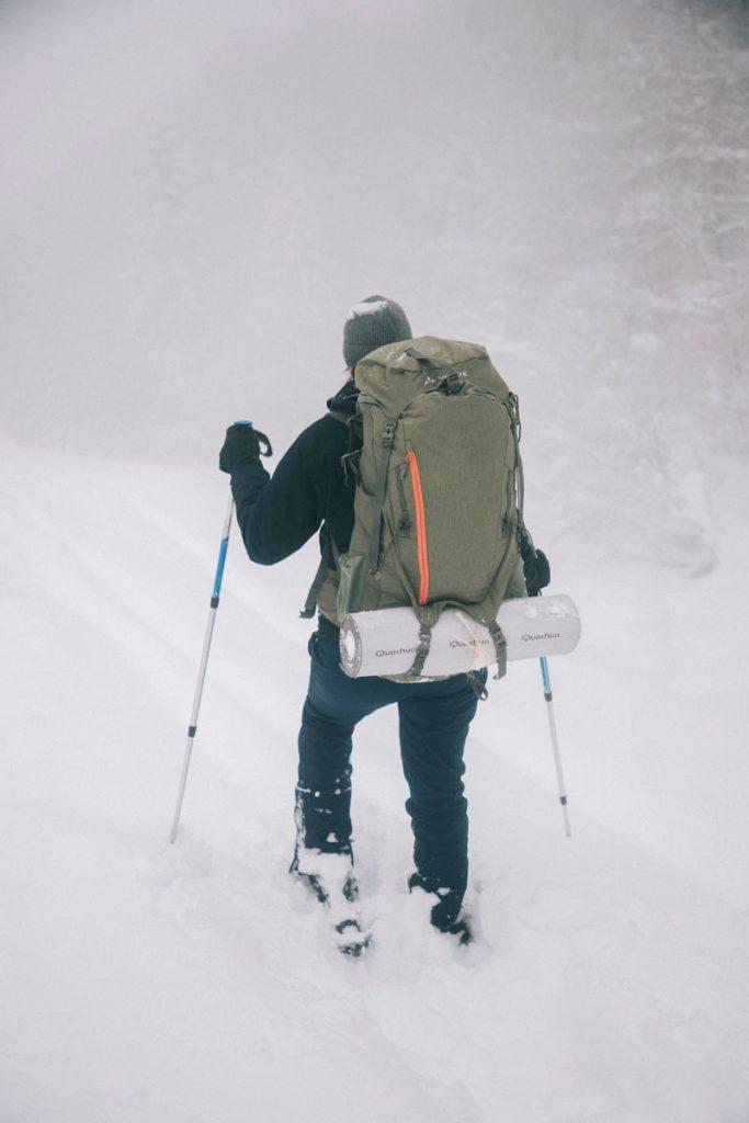 Pyrénées côté Bearn en hiver : idée rando raquette dans le cirque de Lescun. crédit photo : Clara Ferrand - blog Wildroad