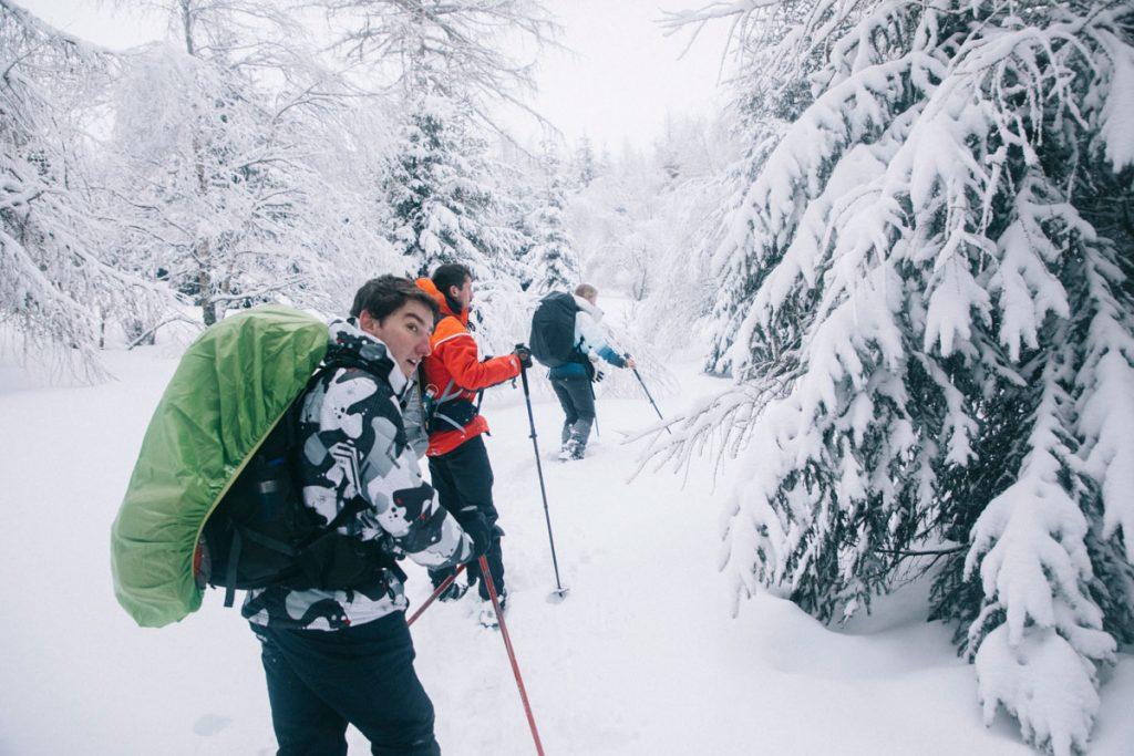 Le tour du petit Ballon une randonnée à faire en hiver. crédit photo : Clara Ferrand - blog Wildroad
