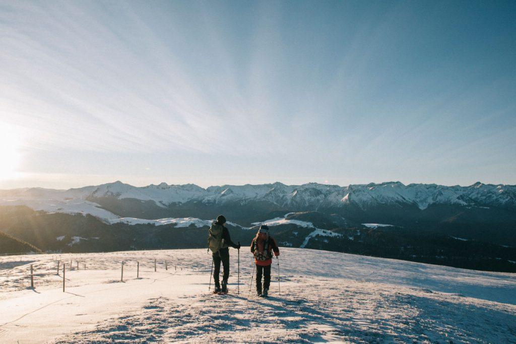 Les randonnées raquettes à faire en hiver en Ariège. crédit photo : Clara Ferrand - blog Wildroad