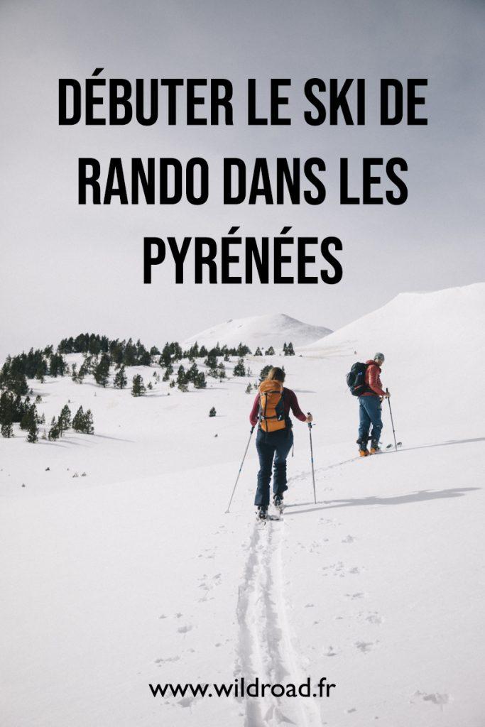 Débuter le ski de randonnée dans les Pyrénées : initiation au ski de rando avec l'ascension du pic du Tarbésou en Ariège. crédit photo : Clara Ferrand - blog Wildroad #pyrénées #ariege #hiver #skiderando #picdutarbesou #france #montagne #weekend #occitanie