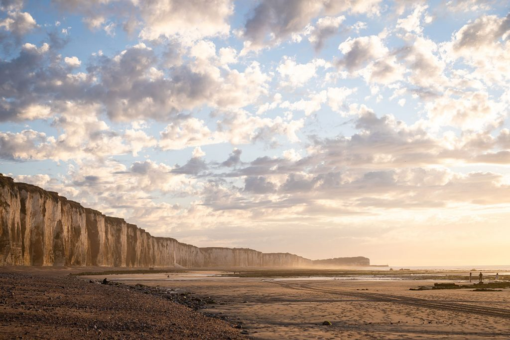 Le sentier des falaises en Haute-Normandie, le GR21. crédit photo : Mi fugue mi raison