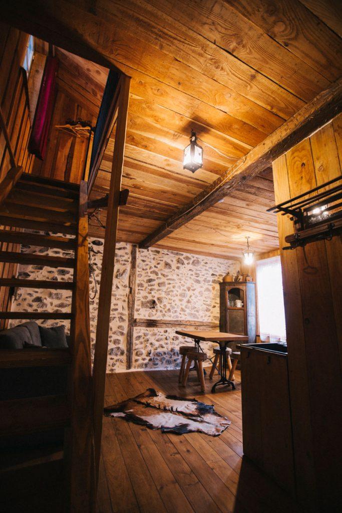 L'hébergement le passage à Ax-les-Thdermes pour un séjour à la montagne en Ariège. crédit photo : Clara Ferrand - blog Wildroad