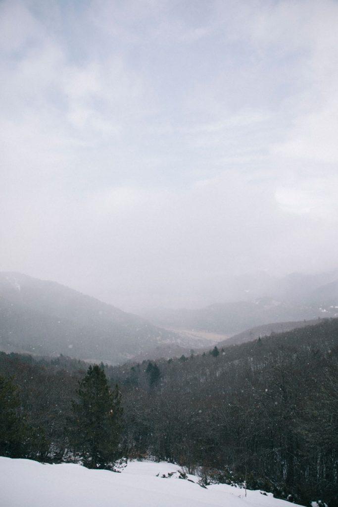 Panorama durant le tour du pic de Géral au plateau des Sept Cases. crédit photo : Clara Ferrand - blog Wildroad