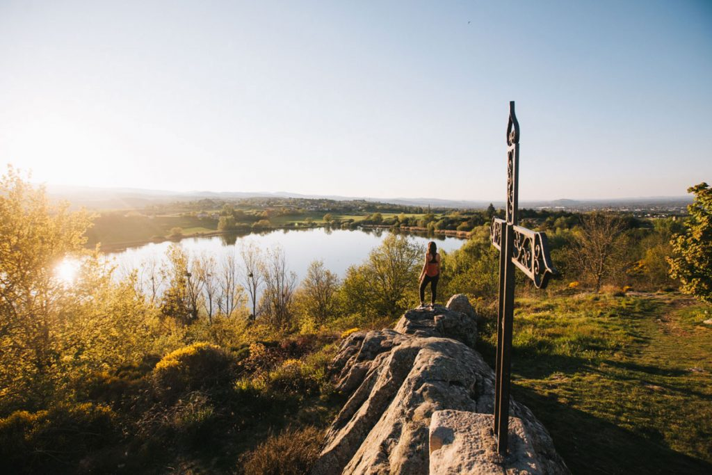 Balade à l'étang de vidrieux dans la Loire. crédit photo : Clara Ferrand - blog Wildroad