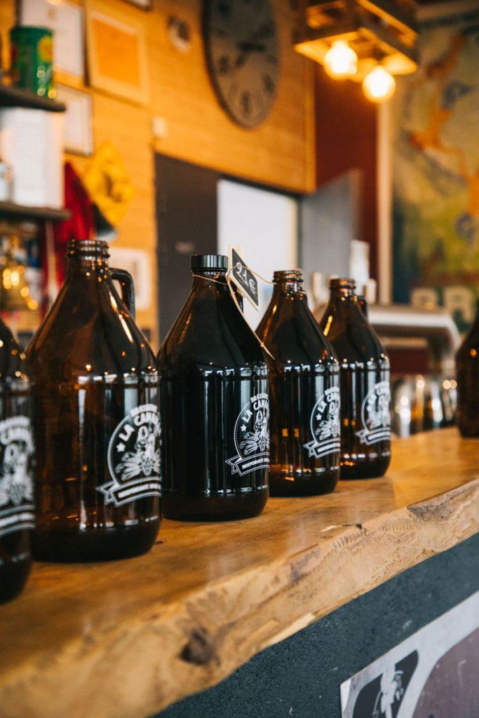 Visiter la brasserie artisanale de la Canaille. crédit photo : clara Ferrand - blog Wildroad