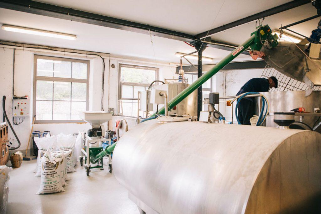 Biere locale dans le Forez à la brasserie de La Canaille. crédit photo : Clara Ferrand - blog Wildroad