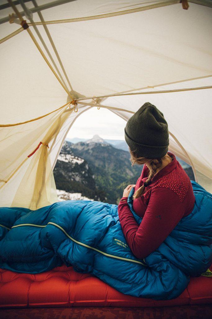 Comment bien entretenir sa tente de bivouac pour qu'elle dure longtemps. crédit photo : Clara Ferrand -blog Wildroad