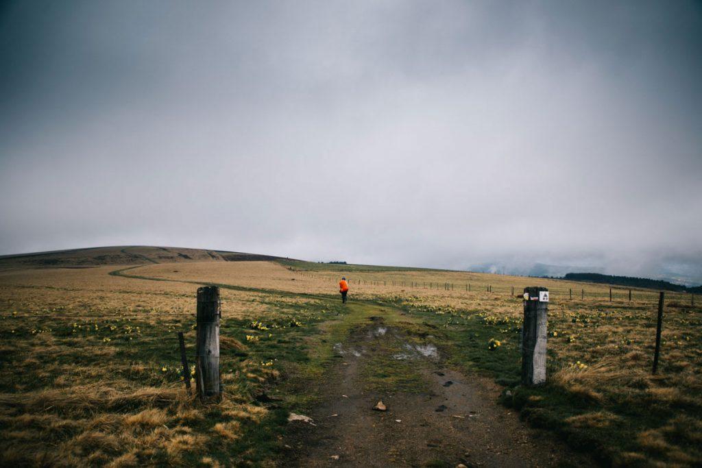 Randonner sur les Hautes-Chaumes dans les monts du Forez. crédit photo : Clara Ferrand - blog Wildroad