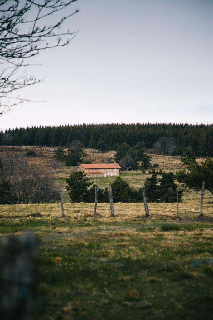 Les jasseries dans les Hautes-Chaumes du Forez. crédit photo : Clara Ferrand - blog Wildroad