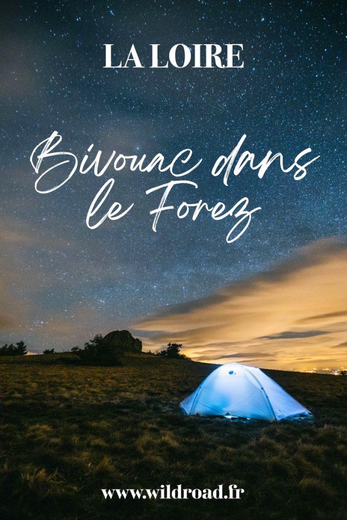 Bivouac dans le Forez : tout ce que vous devez savoir pour organiser votre randonnée dans les monts du Forez sur le GR3. crédit photo : clara Ferrand - blog Wildroad #forez #gr3 #france #laloire #randonnee #bivouac #pierrebazanne #montsduforez