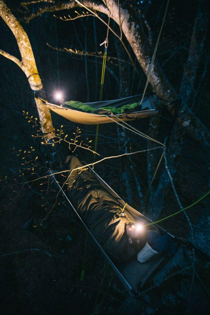 Passer une nuit dans les arbres. crédit photo : Clara Ferrand - blog Wildroad
