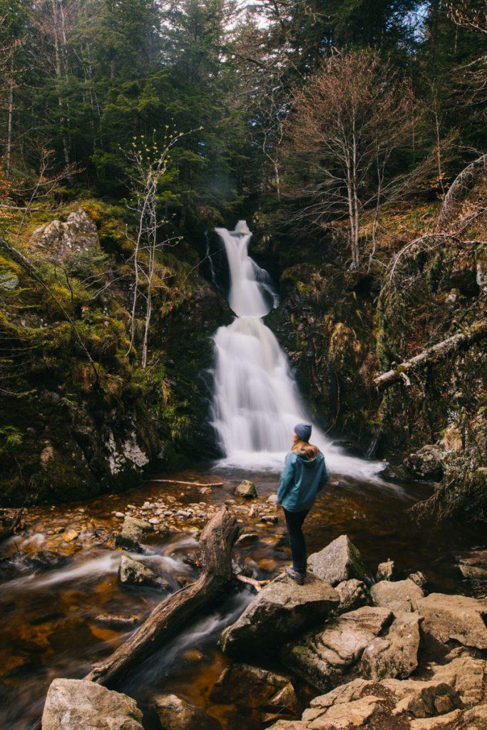 Randonnée de la cascade de Chorsin et du ruisseau de pierre brune. crédit photo : Clara Ferrand - blog Wildroad
