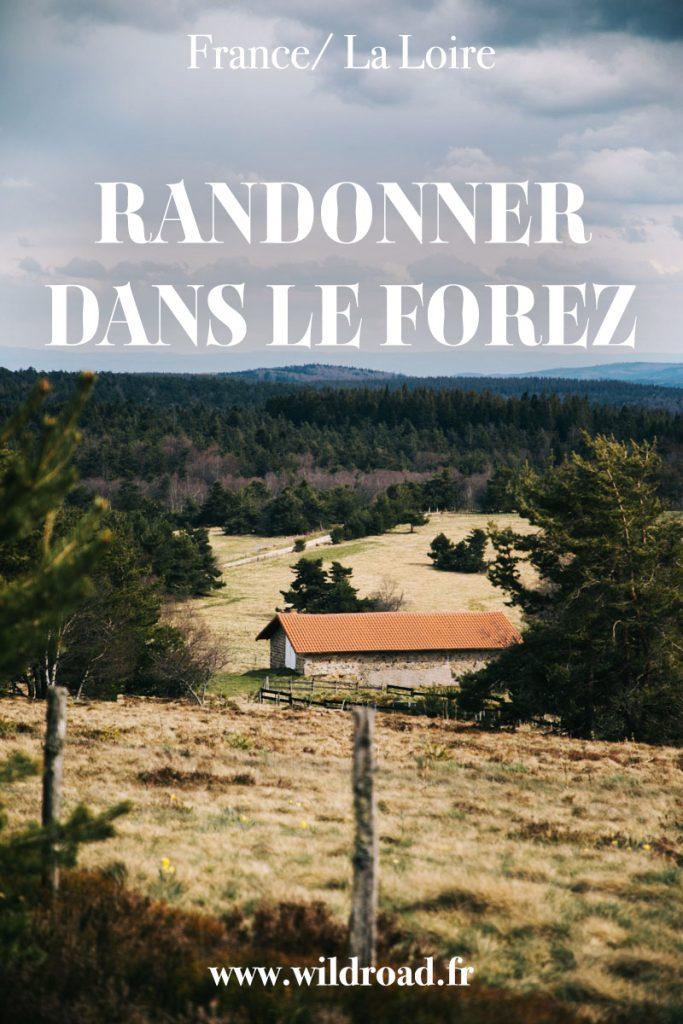 Partez faire une randonner dans le Forez pour découvrir les paysages de la Loire à travers le GR3. Un itinéraire avec de jolie paysages pour découvrir une France sauvage. crédit photo : Clara Ferrand - blog Wildroad #forez #randonnée #GR3 #hauteschaumes #laloire
