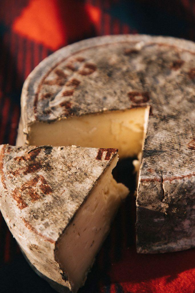 Degustation de la Tomme de Savoie dans une ferme. crédit photo : Clara Ferrand - blog Wilrdoad