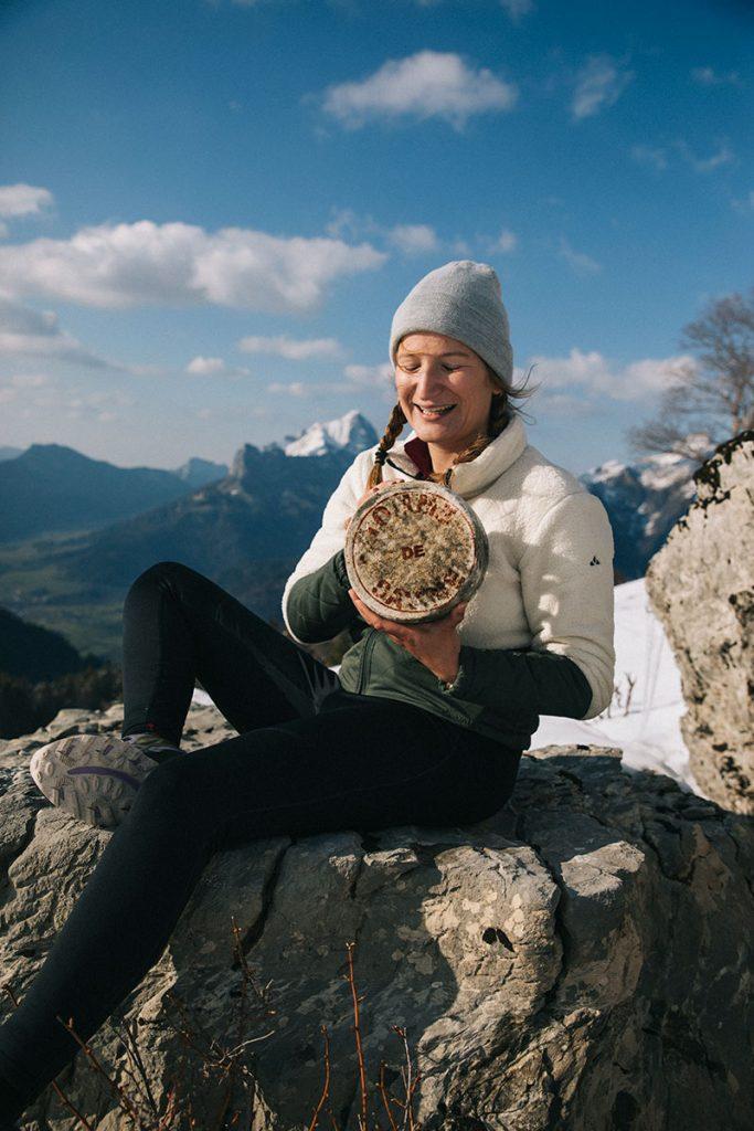 L'origine de la Tomme de Savoie. crédit photo : Clara Ferrand - blog Wildroad