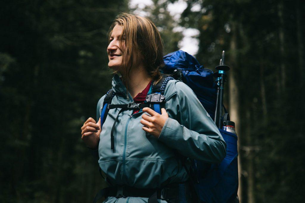 Itinéraire de randonnée sur le chemin des seigneurs dans le Forez. crédit photo : clara Ferrand - blog Wildroad