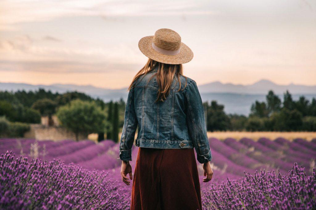 Quelle est la bonne période pour voir les champs de lavande dans la Drôme Provençale. crédit photo : Clara Ferrand - blog Wildroad