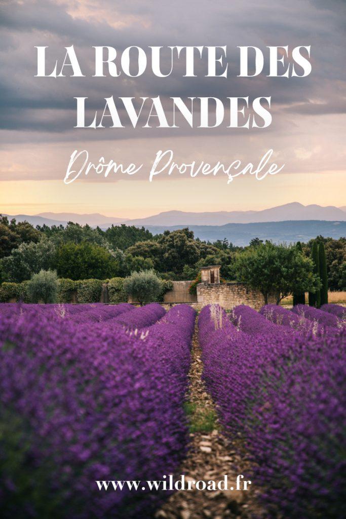 La route des lavandes dans la Drôme Provençale. Des idées d'activités à faire autour des champs de lavandes. Visitez les plus beaux villages perché et les marchés provençaux. crédit photo : Clara Ferrand - blog Wildroad #drômeprovençale #lavande #champsdelavande #drôme #france #weekend #villageperché