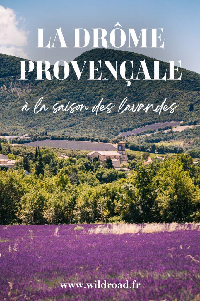 Que faire dans la Drôme Provençale pendant la saison des lavandes. Visiter les plus beaux villages de France et randonnée dans le pNR des Baronnies. crédit photo : Clara Ferrand - blog Wildroad #drômeprovençale #baronnies #lavandes #weekend #france