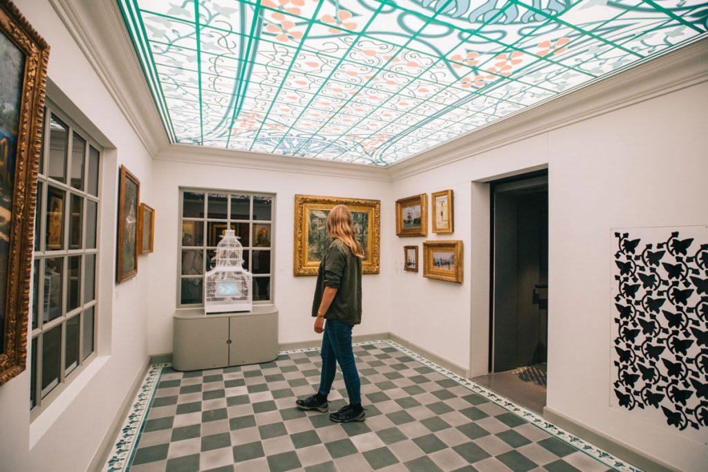 Le musée de la Villa du temps retrouvé à Cabourg. crédit photo : Clara Ferrand - blog WIldroad