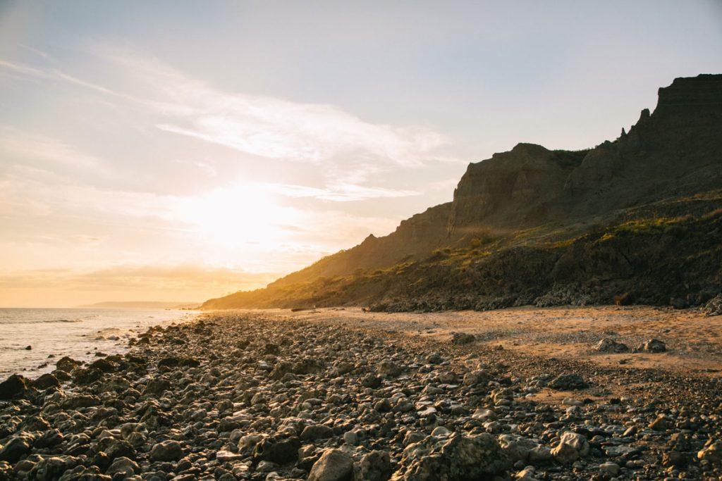 Les paysages de falaises des vaches noires à Houlgate. crédit photo : Clara Ferrand - blog Wildroad