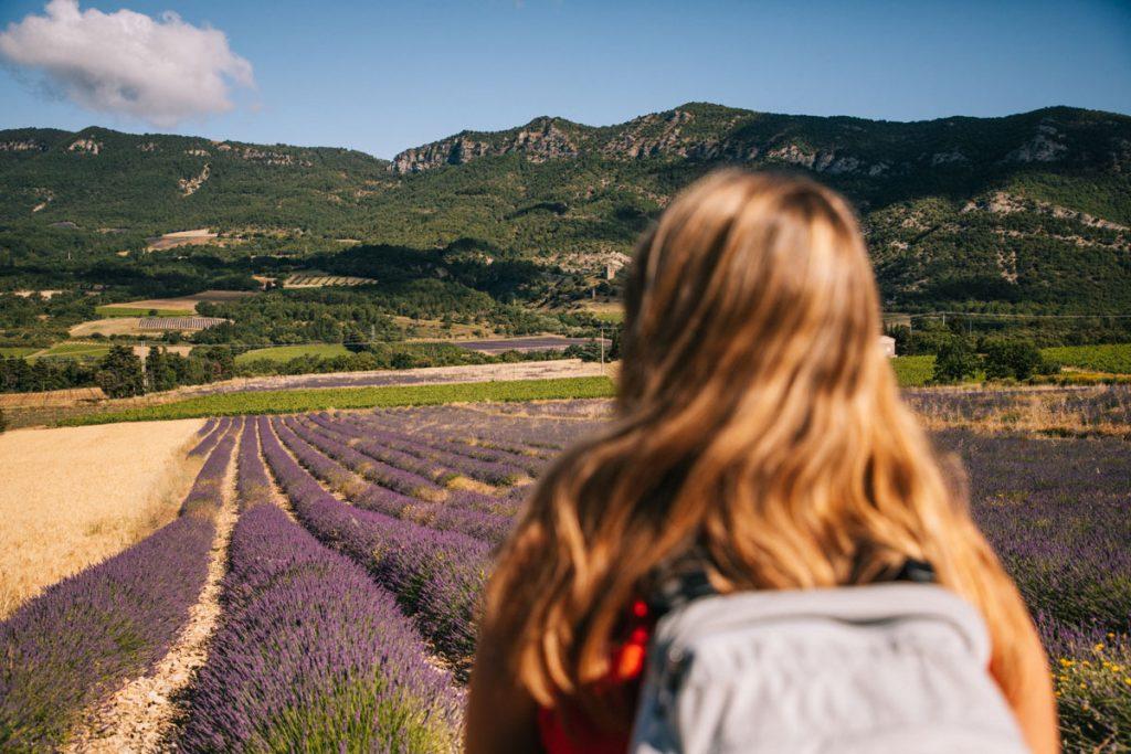 La randonnée tou et détour du Lez au départ de la Roche-saint-secret Béconne. crédit photo : Clara Ferrand - blog Wildroad