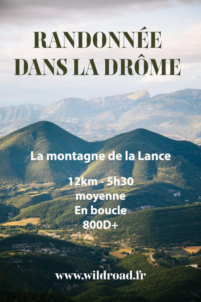 La randonnée de la montagne de la Lance, l'une des plus belle randonnée à faire dans le parc naturel régional des baronnies dans la Drôme. crédit photo : Clara Ferrand - blog Wildroad #randonnee #baronnies #weekend #drôme #drômeprovençale