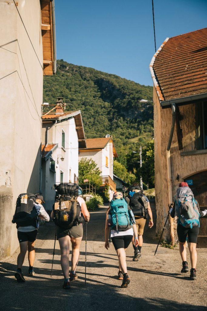 Départ de Culoz pour un trek de 2 jours dans le Buggy. crédit photo : Clara Ferrand - blog Wildroad