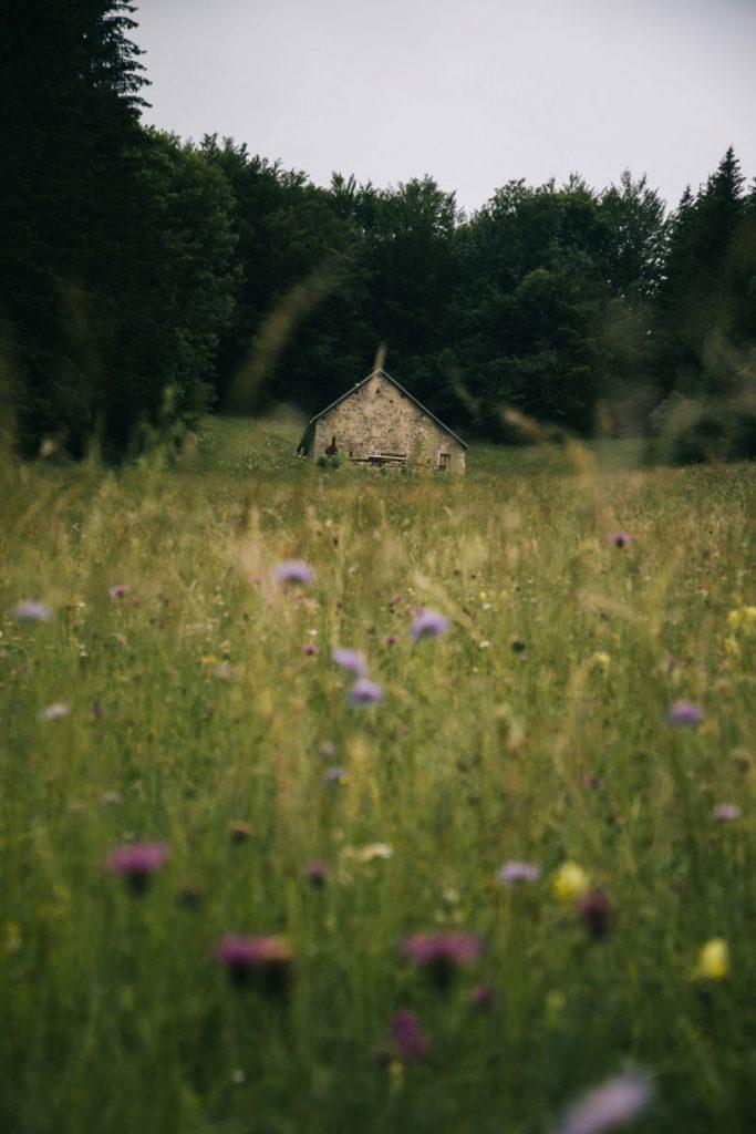 Randonnée sur plusieurs jours dans le Jura. crédit photo : Clara Ferrand - blog Wildroad