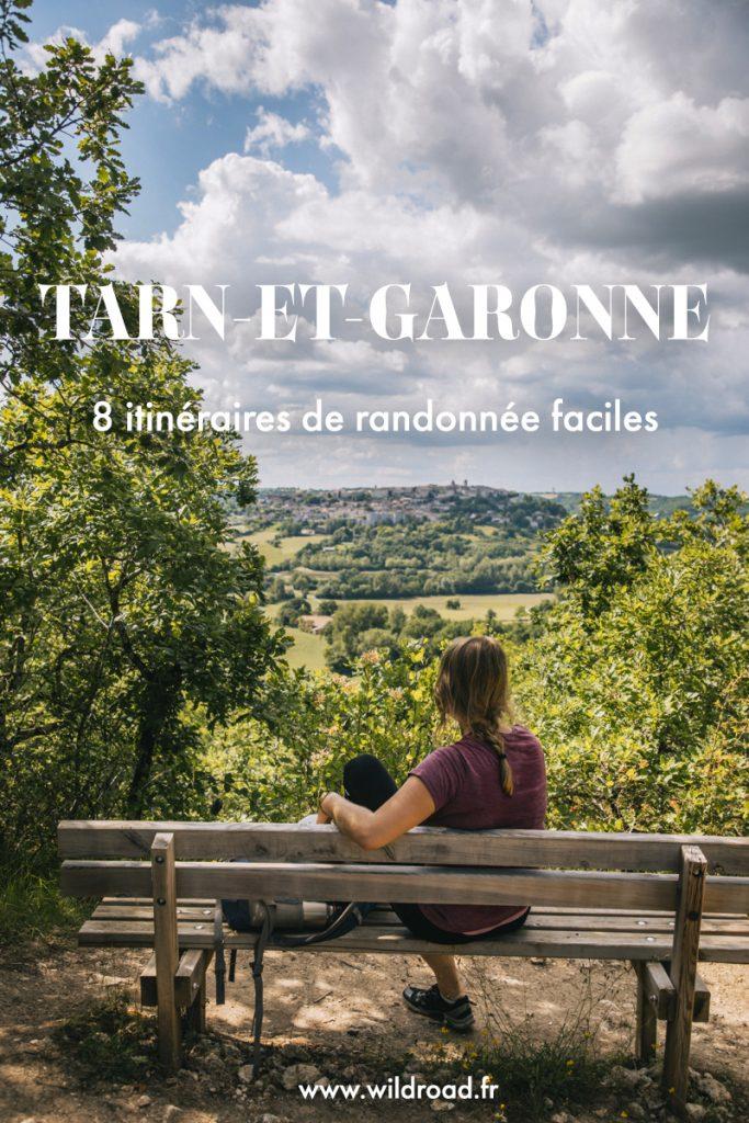 8 itinéraires de randonnée à faire dans le Tarn et Garonne. crédit photo : Clara Ferrand - blog Wildroad #tarnetgaronne #occitanie #randonnée