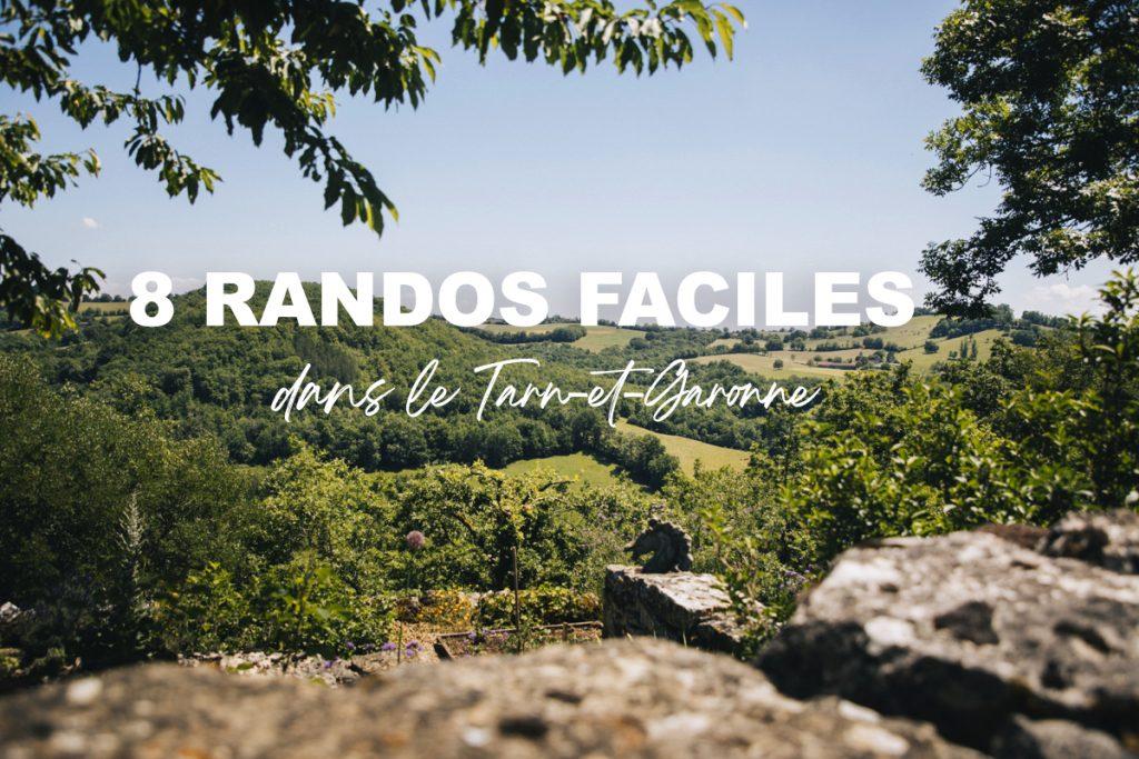 8 randonnées faciles à faire dans le Tarn-et-Garonne. crédit photo : Clara Ferrand - blog Wildroad