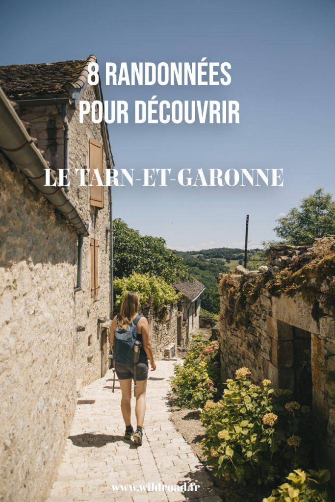 Découvrir le Tarn et Garonne au travers de 8 randonnées faciles du Quercy à la vallée de la Bonnette. crédit photo : Clara Ferrand - blog Wildroad #tarnetgaronne #occitanie #randonnée