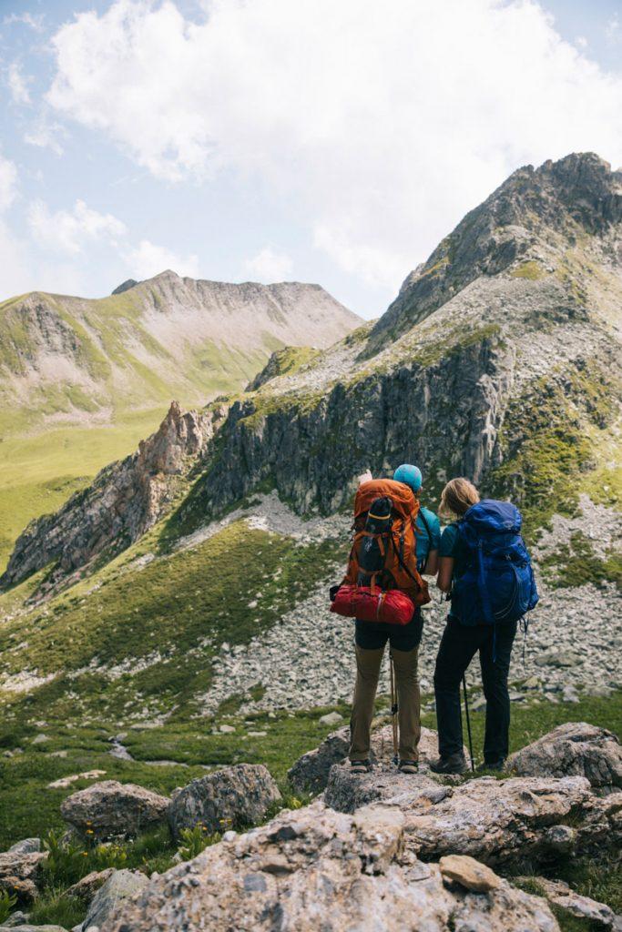 Idée de randonnée dans le massif du beaufortain pour aller au refuge de Presset. crédit photo : Clara Ferrand - blog Wildroad