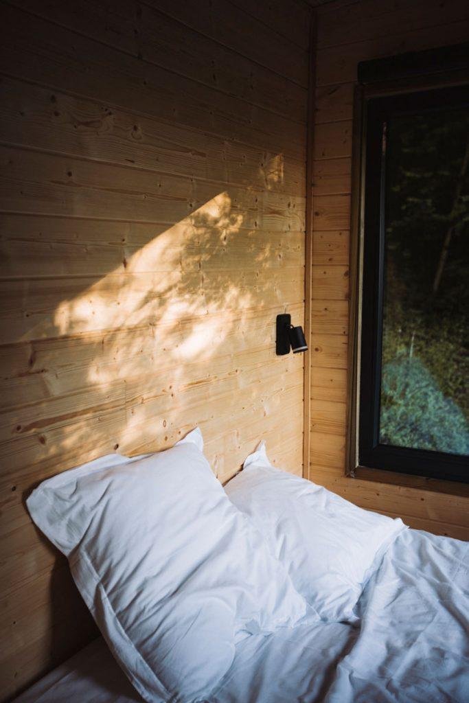 Dormir dans une Tiny house en France : Parcel dans la Cote des Bar. crédit photo : Clara Ferrand - blog Wildroad