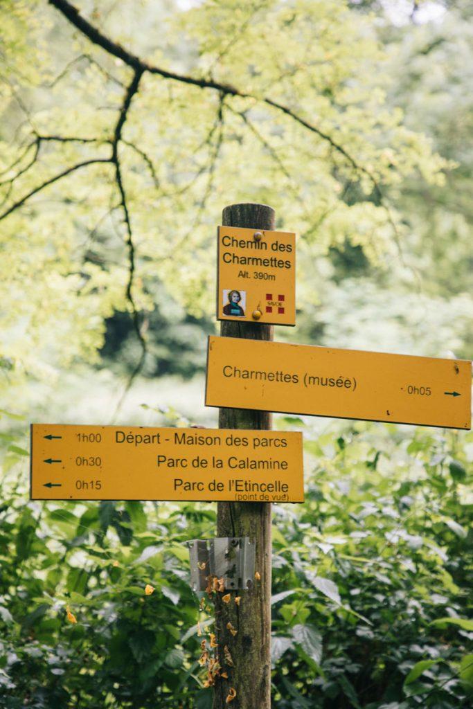 Le chemin des Charmette et la maison de jean Jacques Rousseau. crédit photo : Clara Ferrand - blog Wildroad