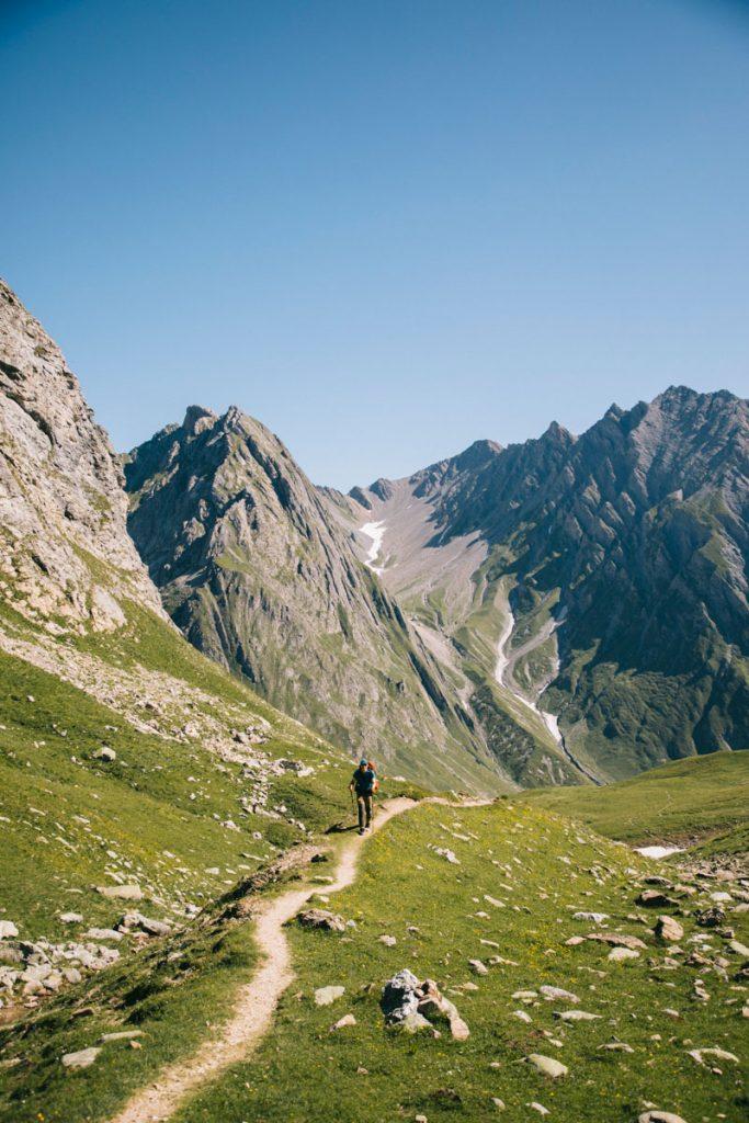 Le col du Mont Rosset. crédit photo : Clara Ferrand - blog Wildroad