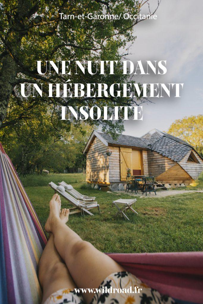 De idées d'hébergements insolite pour un week-end dans le Tarn et Garonne en amoureux. crédit photo : Clara Ferrand - blog Wildroad #tarnetgaronne #hebergementinsolite #weekend #amoureux