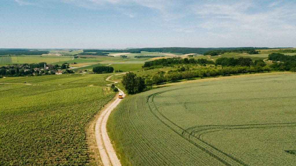 Partir en séjour sur la route touristique du Champagne à travers l'Aube. crédit photo : Clara Ferrand - blog WIldroad