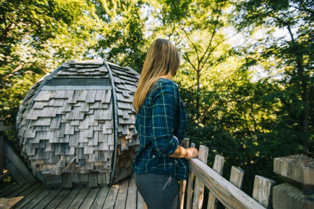 Le lov'nid un hébergement insolite pour un week-end en amoureux autour de Toulouse. crédit photo : Clara Ferrand - blog Wildroad