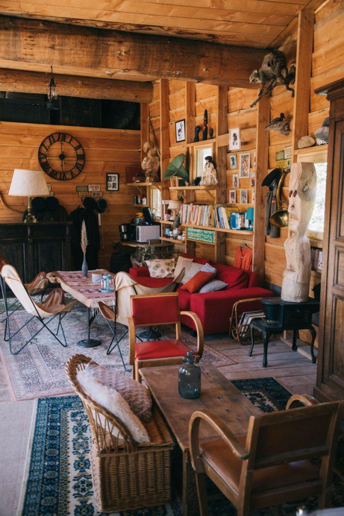 La maison de l'eau à chape. crédit photo : Clara Ferrand - blog Wildroad