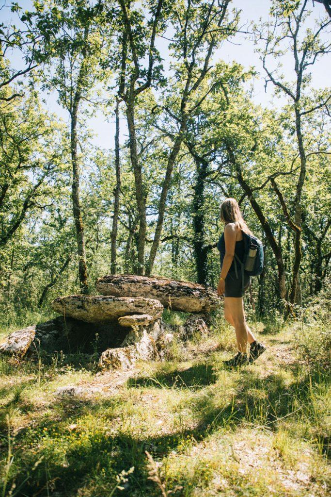 Itinéraire de randonnée à faire dans le Tarn et Garonne. crédit photo : Clara Ferrand - blog Wildroad