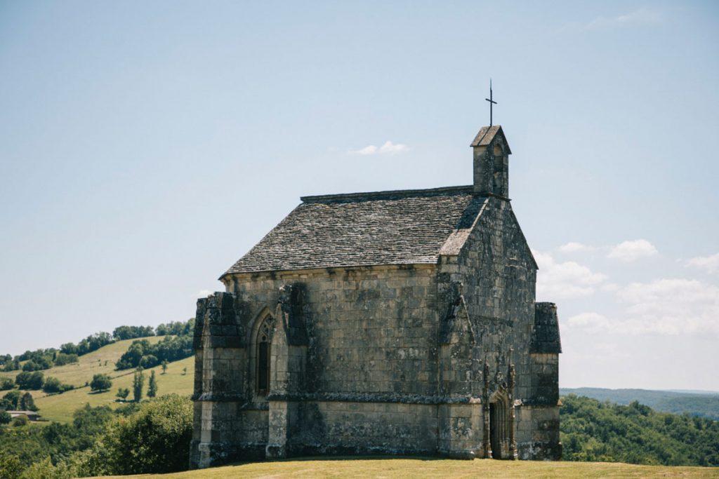 Chapelle de Notre-dame dans la vallée de la Bonnette. Crédit photo : Clara Ferrand - blog Wildroad