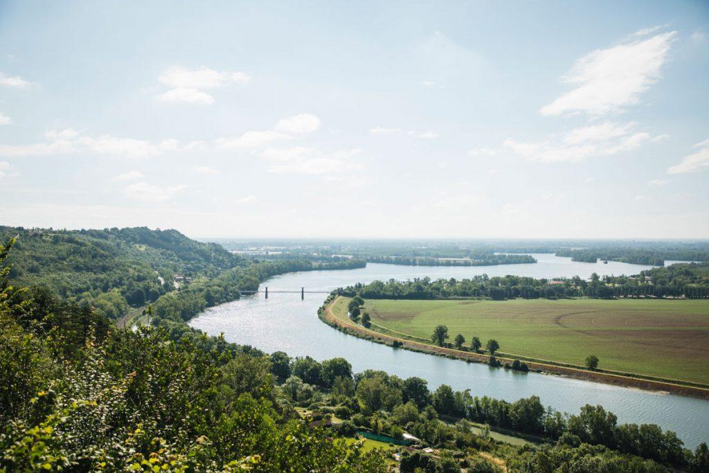 Le belevdere de la randonnée des coteaux de Boudou dans le Tarn et Garonne. crédit photo : Clara Ferrand - blog Wildroad