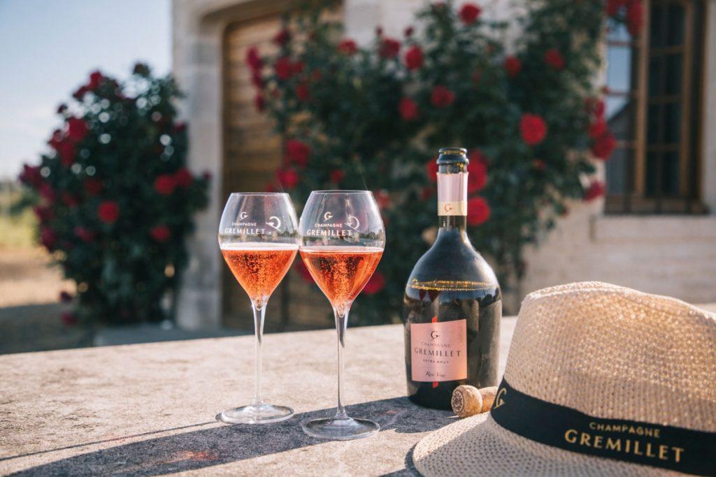 Dégustation de rosée des riceys en Champagne. crédit photo : Clara Ferrand - blog Wildroad