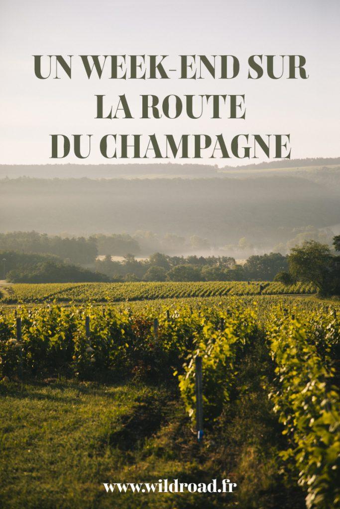 Découvrez l'itinéraire touristique de la route du Champagne dans la Côte des Bar. crédit photo : Clara Ferrand - blog Wildroad #aube #grandest #visitedecaves #champagne #weekend #romantique #france