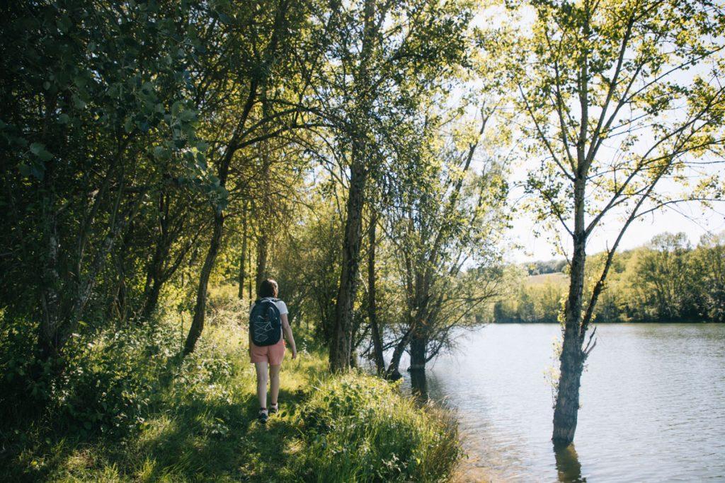 La randonnée du circuit de la Cheneraie dans le Tarn et Garonne. crédit photo : Clara Ferrand - blog Wildroad