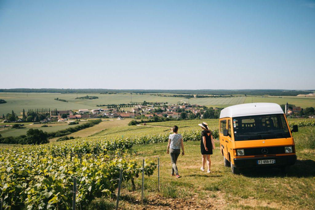 Visite de vignoble en Champagne avec l'empreinte des Fées. crédit photo : Clara Ferrand - blog Wildroad