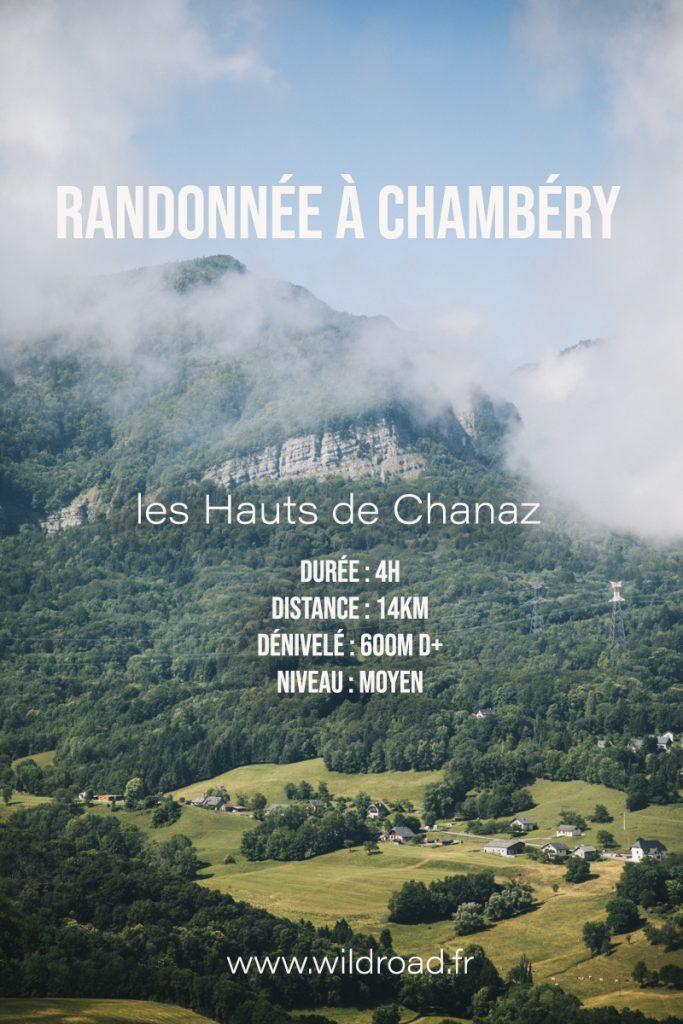 Itinéraire de randonnée pour découvrir Chambéry et ses alentours. crédit photo : Clara Ferrand - blog Wildroad. #savoie #auvergnerhonealpes #randonnée #chambery